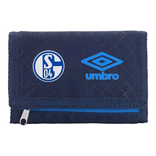 Geldbeutel Schalke 04 Geldbörse + Sticker, monedero/Purse/Bourse, Geldtasche, Portemonnaie, S04
