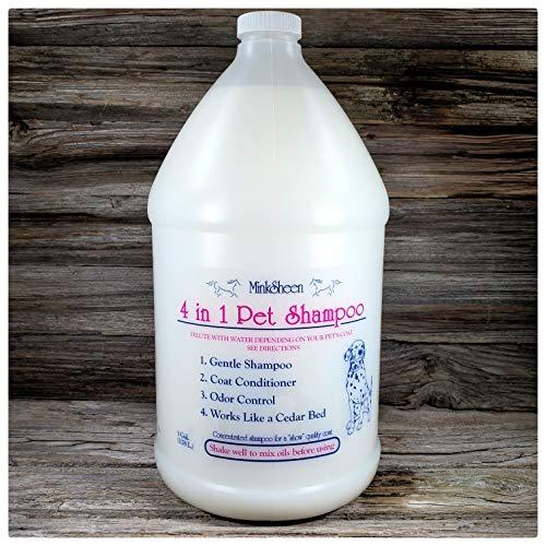 MinkSheen Pet Shampoo - 128 oz
