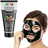 Organix Mantra Activated Charcoal Peel Off Mask 120ml, Deep Cleansing Mask, Deep Pore