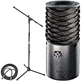 Aston Microphones Origin Large Diaphragm Cardioid Condenser Microphone + On-Stage Euro Boom Mic Stand + Mic Cable XLR-M to XLR-F