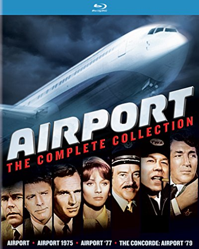AIRPORT: THE COMPLETE COLLECTION - AIRPORT: THE COMPLETE COLLECTION (4 Blu-ray)