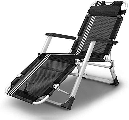 ADHW - Silla de respaldo para exteriores, ligera, ajustable de aluminio