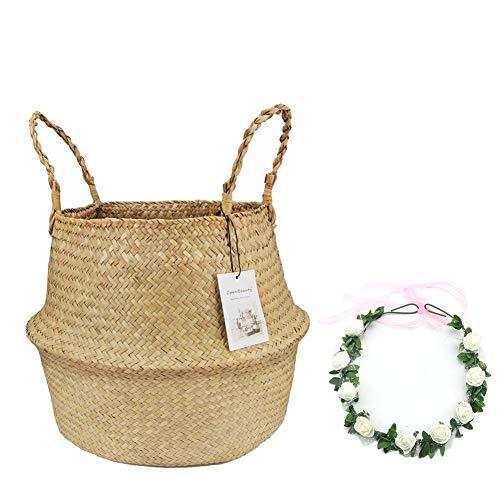 cesta mimbre pequeña fabricante Qliwa