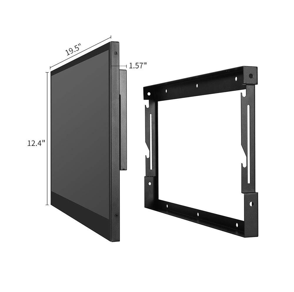Soulaca 22 Pulgadas Smart TV Negro para Baño IP66 a Prueba de Agua con Wi-Fi Integrado (Sistema Android TV 7.0): Amazon.es: Hogar