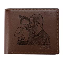 ✔ CUSTOM MEANINGFUL GIFTS: This personalized photo wallet makes the ideal warming gift for a special someone, or a stylish treat for yourself. There's making this a Printed on the front with your photos and engraving the words on the back. Even with ...