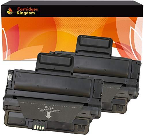 Cartridges Kingdom 2 Schwarz Toner kompatibel für Samsung ML-2850, ML-2850D, ML-2850ND, ML-2851ND