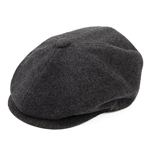 Village Hats Casquette Gavroche Galvin Gris Bailey - Large