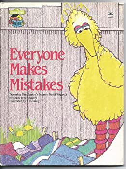 Everyone makes mistakes: Featuring Jim Henson's Sesame Street Muppets - Book  of the Sesame Street Book Club