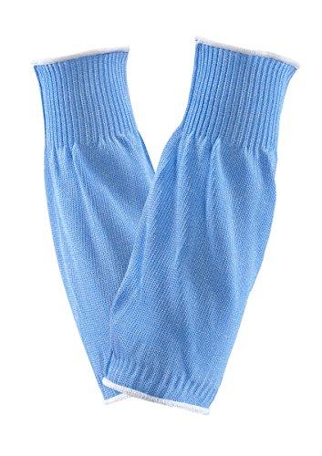 Ansell VersaTouch 72-290 Manchette de protection contre les coupures, procédé agroalimentaire, Bleu (Sachet de 1 pièce)