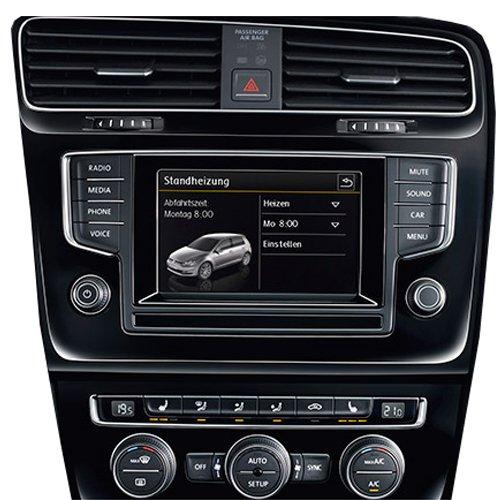 Volkswagen 1T0054981D Einbausatz (Aufrüstung Zusatzheizung zur Standheizung), nur Climatronic