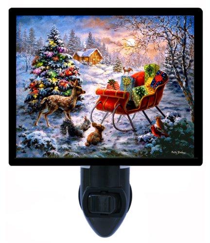 Christmas Night Light, Tis The Night Before Christmas LED Night Light