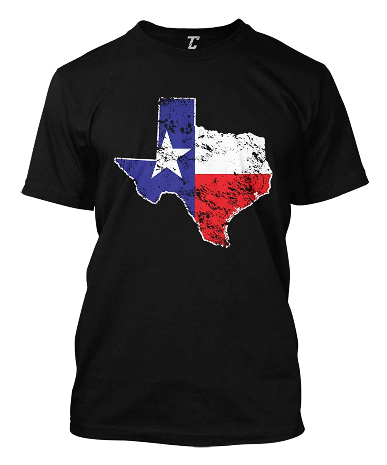 Texas State Flag Map - USA Men's T-Shirt