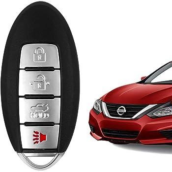 Key fits 2016 2017 Nissan Altima /& Maxima Keyless Entry Remote KR5S180144014, 7812D-S180204