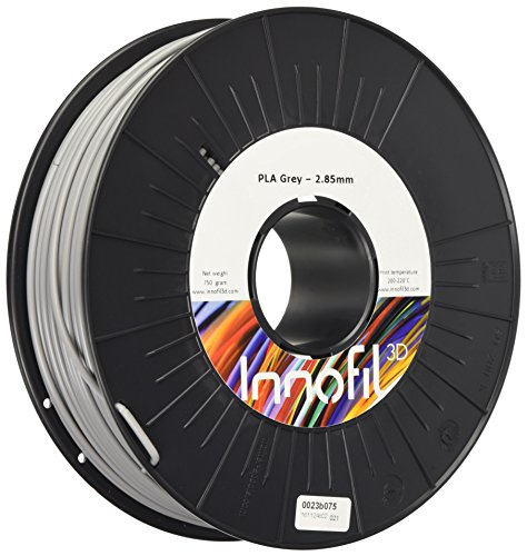 innofil PLA Filament für 3D Drucker (2,9 mm) grey