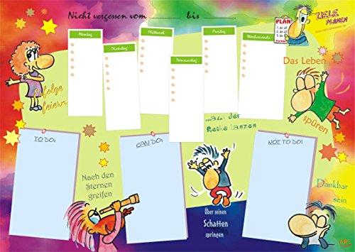 Schreibtischunterlage Papier Wochenplaner DIN A2, To-Do-Liste, Aufgabenliste für Ihr Zeitmanagement