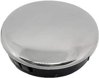Gazechimp Heavy Duty Marine Grade Stainless Steel Boat Steering Wheel Cap Replace - Snap in Center Cap Button - 2-3/4 inch 70mm Dia