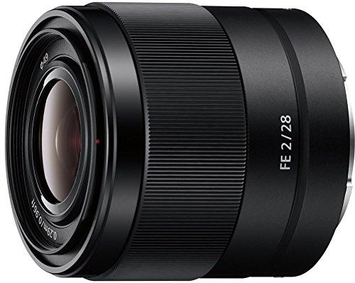 Sony FE 28 mm f/2 - Objetivo Gran Angular de Montura Tipo...