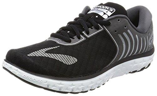 Brooks Women's PureFlow 6 Running Shoes (5.5 B(M) US, Black/Anthracite/Silver)