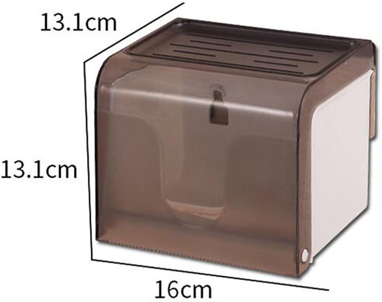UFFD Rechteckige Seidenpapier Box Cover Case Serviettenhalter Wand Selbstklebend mit Badezimmer B07DQHBTFL