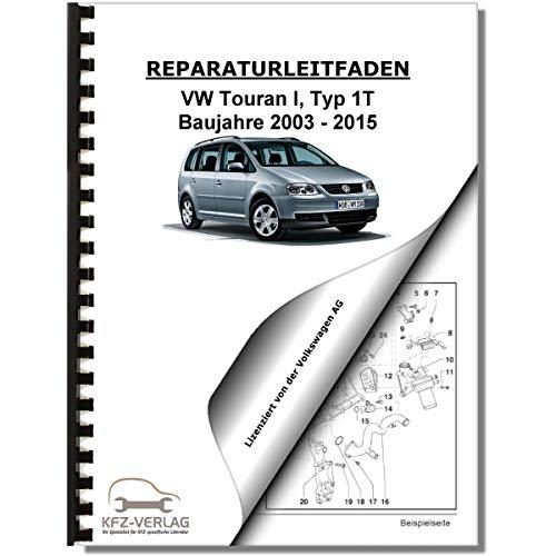 VW Touran, Typ 1T (03-15) 4-Zyl. Dieselmotor TDI 2,0l 140 PS Reparaturanleitung