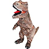 KOOY Inflatable T-REX Dinosaur Costume Fancy Costume Halloween costumes Blow up Costume Adult