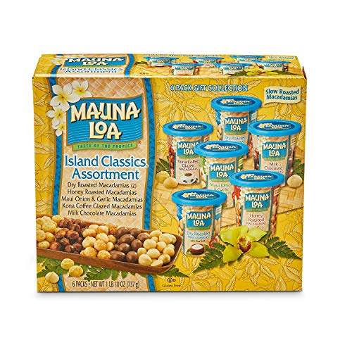 Mauna Loa Dry Roasted Macadamia Nuts (Island Classic Assortment)