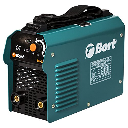 Bort Elektro-Schweißgerät BSI-220H mit Hot-Start, Anti-Stick, Arc Force, 10-200 A, 2.5-5 mm, 5700 W, 180-250 V