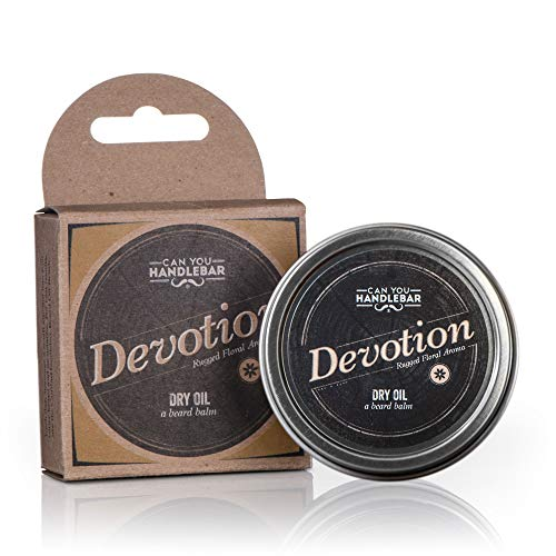 Patchouli Beard Balm - Devotion (Patchouli & Floral Scent) - Beard Balm | Dry Oil Beard Conditioner