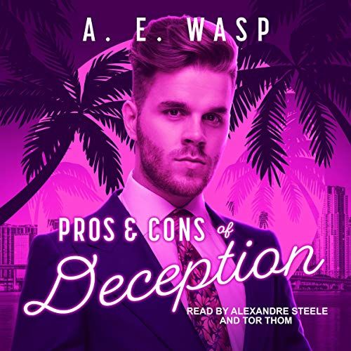 Pros & Cons of Deception audiobook cover art