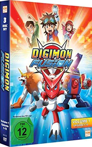 Digimon Fusion Vol. 1 (Folge 01-15 im 3 Disc Set) [DVD]