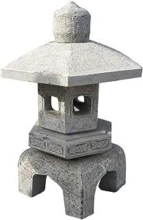 zenggp Pagoda Asian Lantern Garden Decor Home Outdoor Sculpture Large Stoon Statue