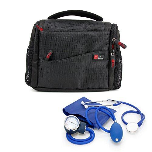DURAGADGET Bolso/Botiquín Compatible con Equipo De Primeros Auxilios | Compartimentos Interiores Regulables Médicos/Paramédicos/Enfermeros
