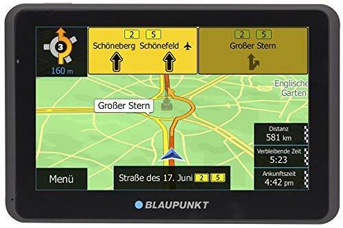 Blaupunkt 1091234023 TravelPilot 55 ACTIVE CE LMU 5 Zoll PKW Navigation, Navigationssystem, Aktiv Halter, Central Europa Karte, Lifetime Update, TMC (Generalüberholt)