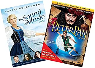 NBC Live Musicals DVD Collection: The Sound of Music: Live / Peter Pan: Live (with Bonus Peter Pan CD Soundtrack)