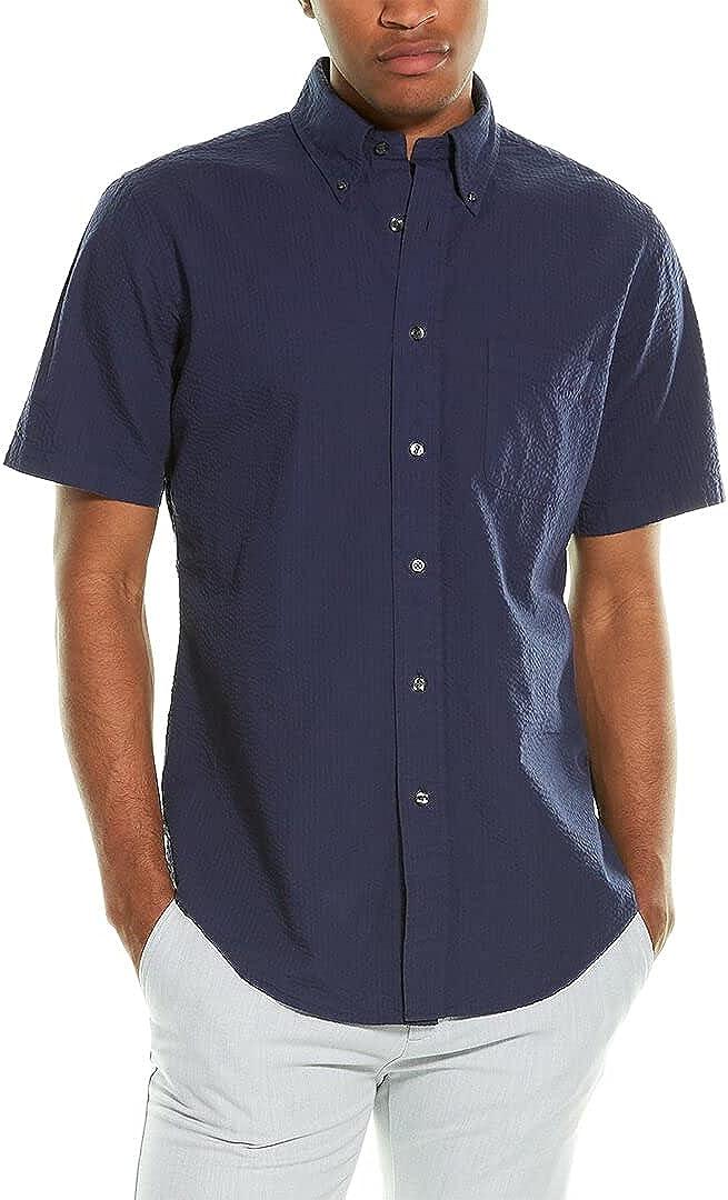 Brooks Brothers Seersucker Regent Fit Woven Shirt