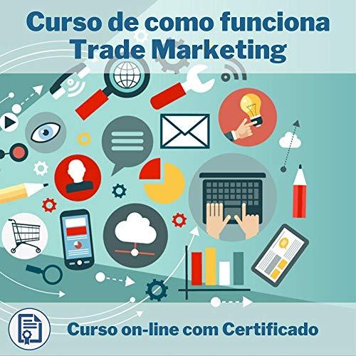 Curso Online em videoaula de como funciona Trade Marketing com Certificado + 2 brindes
