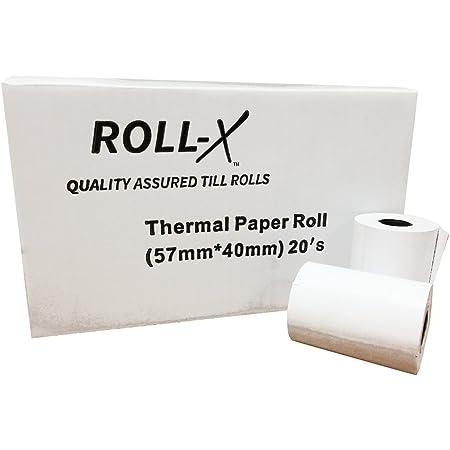 57x40 Thermal PDQ Rolls 10 Rolls Chip/&Pin