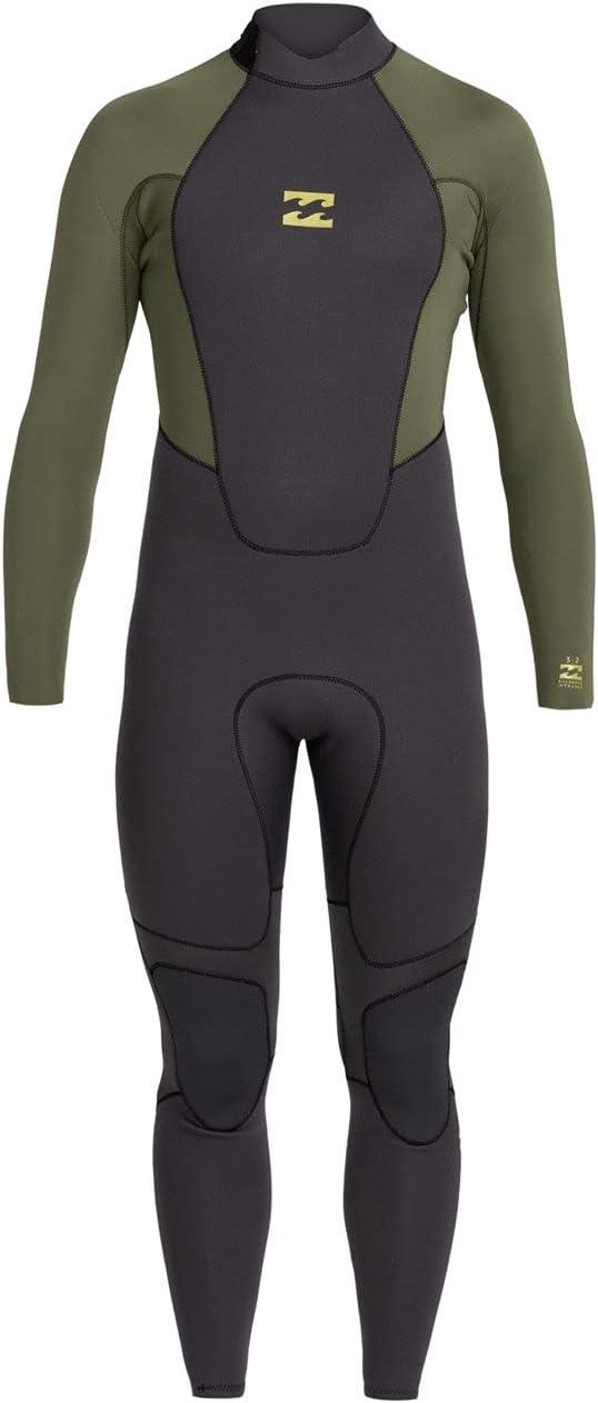 Billabong 5% OFF Mens Intruder 4 3mm Back - Bla GBS Price reduction Wetsuit Antique Zip