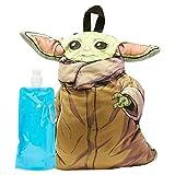 Baby Yoda Plush Backpack Set - Star Wars Baby Yoda Boys 3D Plush Backpack Set (Baby Yoda)