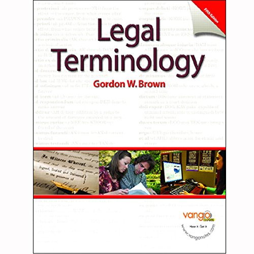 VangoNotes for Legal Terminology, 5/e audiobook cover art