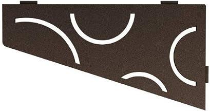 Schluter Systems Quadrilaterale Hoekplank - Curve Design -Brons - (SES3D6TSOB) Kerdi-Line Douche-Acessory