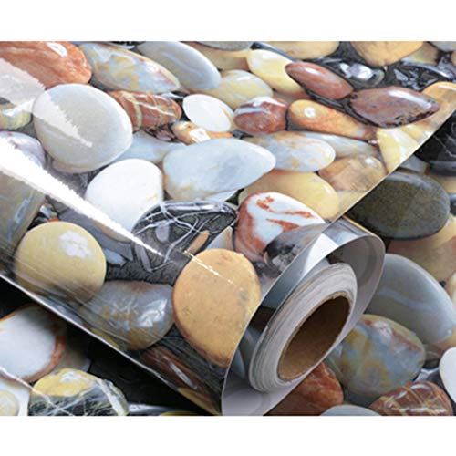 Preisvergleich Produktbild zyy 3D Selbstklebend Aufkleber Wasserdicht Tapete Zum Badezimmer Renovierung Badezimmer Boden Wohnkultur 60 cm X 6 M (Farbe : B)