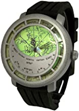 WatchDesign Planisphere Watch - Constellation Star Chart/Map Display Locations of The Major Constellations in The Sky
