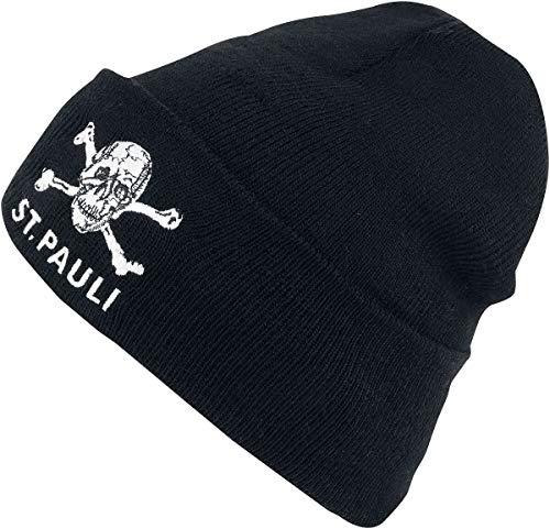 St. Pauli Skull Mütze schwarz-OS