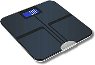 Chunlan - Báscula electrónica de control de peso y calorías de grasa, escala digital inteligente, báscula de peso de salud, báscula de baño 1125 mei