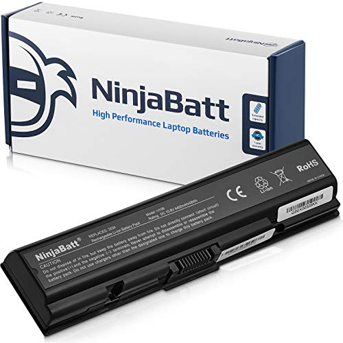 Ninjabatt Batería para Toshiba Satellite A505-S6960 L300 A350 L500 L505D-S5983 L500D PA3533U-1BAS PA3682U-1BRS PA3533