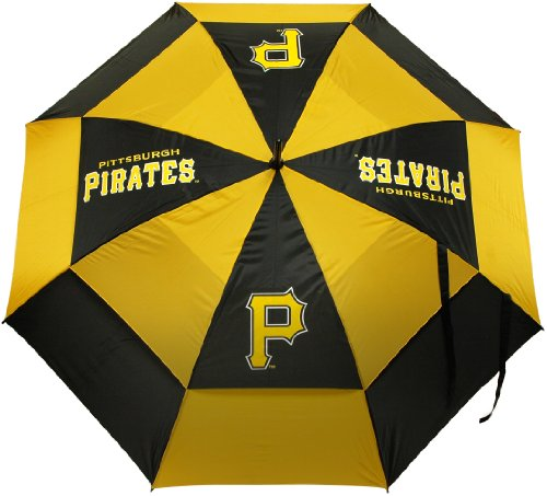 Cheapest Prices! Team Golf MLB Pittsburgh Pirates 62 Golf Umbrella with Protective Sheath, Double C...