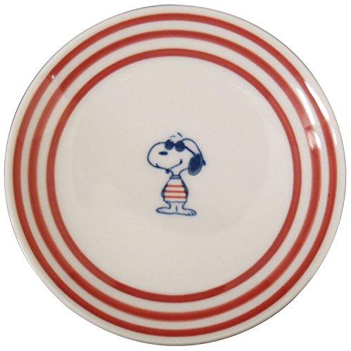 Hasami Ware Peanuts Snoopy Dish Plate (Joe Cool)