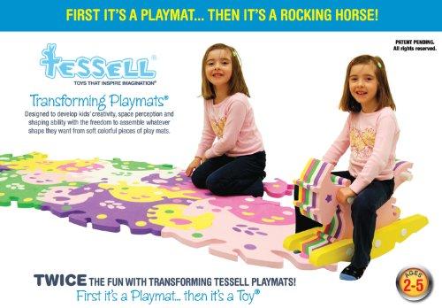 playmats Tessell Transforming Playmats, Animal, Large