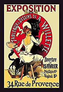 Known as the father of the modern poster Jules Chret (1836 1932) was a French painter and lithographer He worked on everyt...